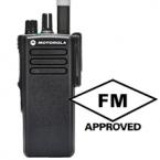 DP4400 VHF or UHF radio FM